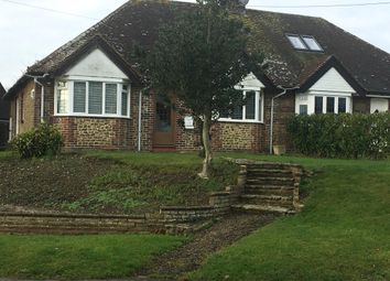 Church Lane, Upper Beeding, Steyning BN44. 2 bed semi-detached bungalow for sale