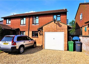Thumbnail 3 bed semi-detached house for sale in Otterbourne Crescent, Tadley