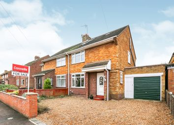 Thumbnail 3 bed semi-detached house for sale in Goodmayes Close, Bedford