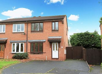 Thumbnail 3 bed property to rent in Robins Drive, Madeley, Telford