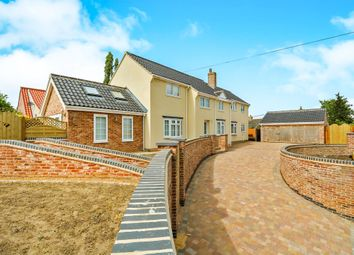 Thumbnail 4 bed detached house for sale in Mill Lane, Benhall, Saxmundham