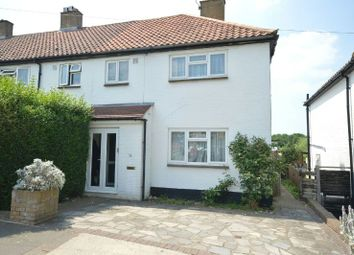 Thumbnail 3 bedroom end terrace house for sale in Stormont Way, Chessington