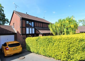 Thumbnail 3 bed semi-detached house for sale in Thorndyke Close, Crawley, West Sussex.