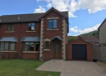 Thumbnail 3 bedroom semi-detached house for sale in Graig Newydd, Godrergraig, Swansea
