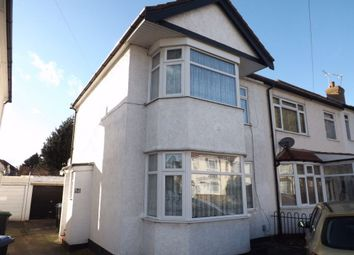 Thumbnail 2 bed semi-detached house to rent in Pembroke Avenue, Enfield, Middlesex