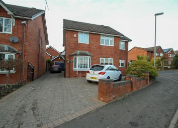 Thumbnail 4 bedroom detached house to rent in Woodstock Road, Kidsgrove, Stoke-On-Trent