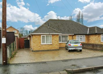 Thumbnail 3 bedroom semi-detached bungalow for sale in Mapleton Road, Wigston