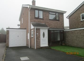 Thumbnail 3 bed detached house to rent in Elton Way, Gnosall