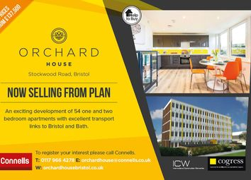 Thumbnail 1 bed flat for sale in Stockwood Road, Brislington, Bristol