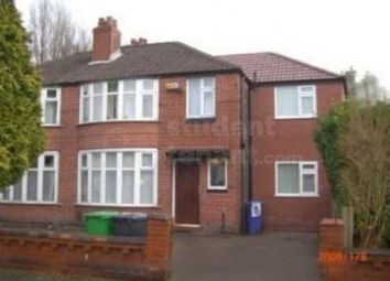6 bed shared accommodation to rent in Fairholme Road, Manchester, Greater Manchester M20