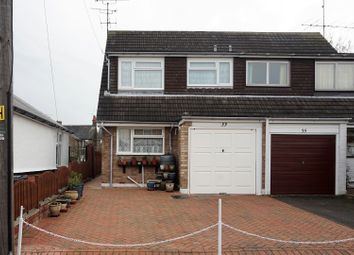Thumbnail 3 bed semi-detached house for sale in Bouverie Road, Chelmsford