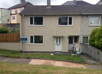 Thumbnail 3 bed end terrace house to rent in Segrave Road, Plymouth