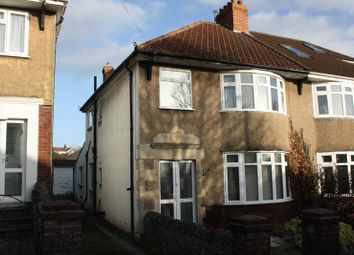 Thumbnail 3 bed semi-detached house for sale in Seabrook Road, Milton, Weston-Super-Mare