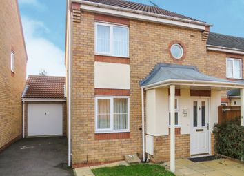 Thumbnail 3 bed link-detached house for sale in Murby Way, Thorpe Astley, Leicester