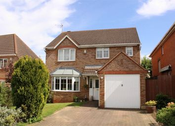 Thumbnail 4 bed detached house for sale in Johnnie Johnson Drive, Lutterworth