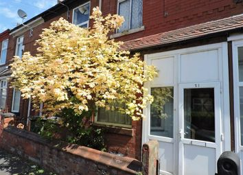 Thumbnail 2 bedroom terraced house for sale in Rushmere Avenue, Levenshulme, Manchester