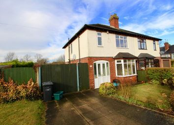 Thumbnail 3 bed semi-detached house to rent in Westlands Avenue, Newcastle, Staffordshire