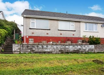 Thumbnail 2 bed semi-detached bungalow for sale in Carmarthen Close, Barry