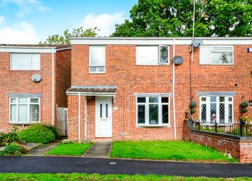 Thumbnail 3 bed end terrace house for sale in Treville Close, Winyates East, Redditch
