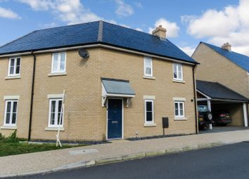 Thumbnail 3 bed semi-detached house for sale in Rutherford Way, Biggleswade, Bedfordshire