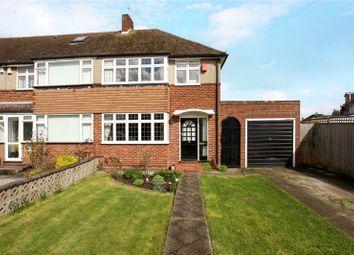 Thumbnail 3 bed terraced house for sale in Hogarth Avenue, Ashford, Surrey