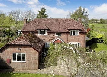 Thumbnail 4 bed detached house for sale in Winterbourne, Newbury
