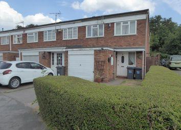 Thumbnail 3 bed end terrace house for sale in Dornie Drive, Birmingham