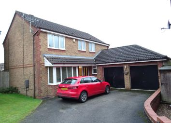 Thumbnail 4 bedroom detached house for sale in Oak Close, Coalville, Leicestershire