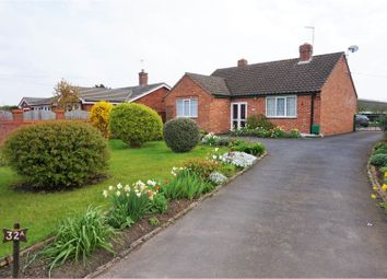 Thumbnail 3 bed detached bungalow for sale in Bretforton Road, Badsey, Evesham