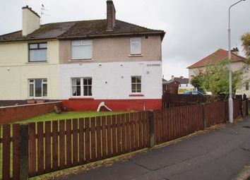 Thumbnail 2 bed flat for sale in Gilmour Avenue, Leven