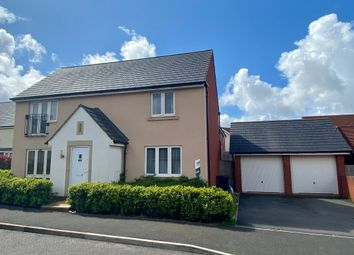 Thumbnail 4 bed detached house to rent in St. Michaels Way, Cranbrook, Exeter