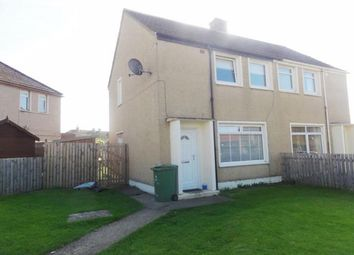 Thumbnail 2 bed semi-detached house to rent in Fa'side Gardens, Wallyford, Musselburgh