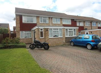 Thumbnail 3 bed end terrace house for sale in Kingfisher Drive, Yateley, Hampshire