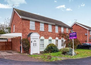 Thumbnail 3 bed semi-detached house for sale in Abbotts Close, Syston