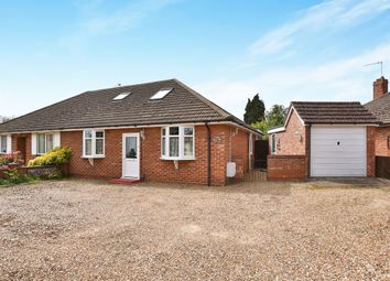 Thumbnail 3 bed semi-detached bungalow for sale in Bush Road, Hellesdon, Norwich