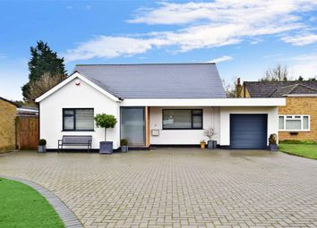 Thumbnail 2 bed bungalow for sale in Manor Rise, Bearsted, Maidstone, Kent