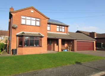 Thumbnail 4 bedroom detached house for sale in Waveney Close, Burton-Upon-Stather, Scunthorpe
