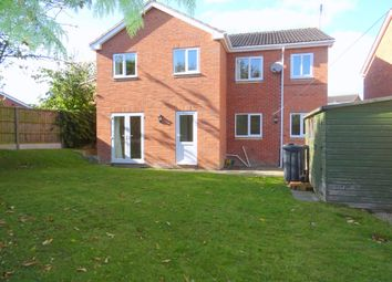 Thumbnail 4 bed detached house to rent in Kedleston Close, Ripley