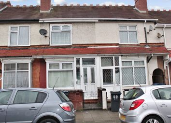 Thumbnail 3 bed terraced house for sale in Tew Park Road, Handsworth, Birmingham