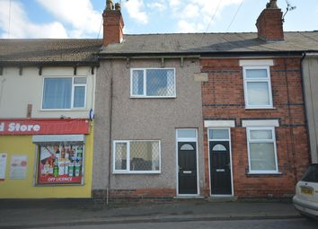 Thumbnail 3 bed terraced house for sale in Chesterfield Road, Shuttlewood, Chesterfield
