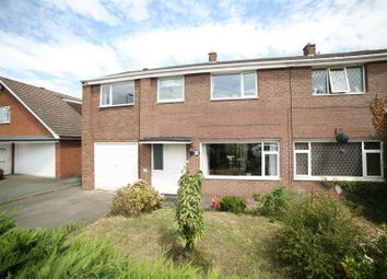 Thumbnail 5 bed semi-detached house for sale in Glebe Road, Bayston Hill, Shrewsbury