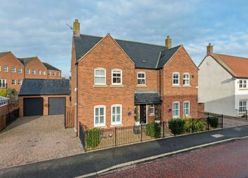 Thumbnail 4 bed detached house for sale in Halton Way, Great Park, Newcastle Upon Tyne