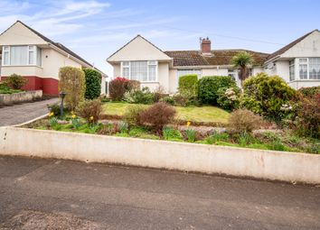 Thumbnail 3 bed semi-detached bungalow for sale in Highland Road, Torquay