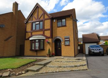 Thumbnail 4 bed detached house for sale in Hubbard Close, Whetstone, Leicester