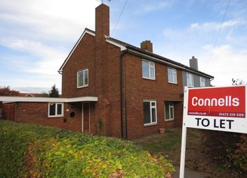 Thumbnail 3 bed semi-detached house to rent in Kingsland, Shotley, Ipswich