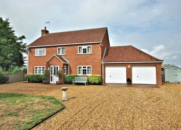 Thumbnail 3 bed detached house for sale in The Street, Marham, King's Lynn