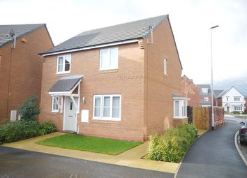 Thumbnail 4 bedroom detached house to rent in Wades Field Place, Leighton, Crewe, Cheshire