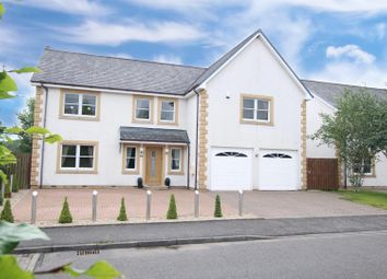 Thumbnail 4 bedroom detached house for sale in Holmwood Park, Crossford, Carluke