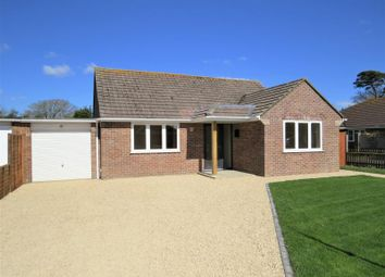 Thumbnail 2 bed detached bungalow for sale in East Close, Barton On Sea, New Milton