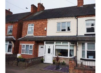 Thumbnail 3 bed terraced house for sale in Park Street, Tamworth